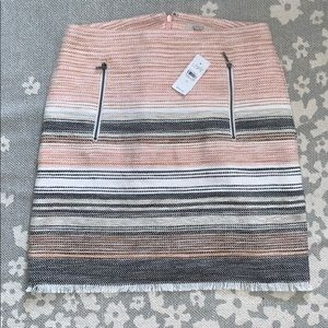 Loft Pink Mini Skirt